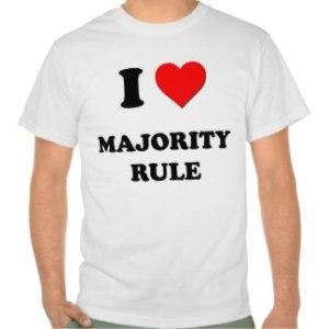 I <3 Majority Rule Shirt